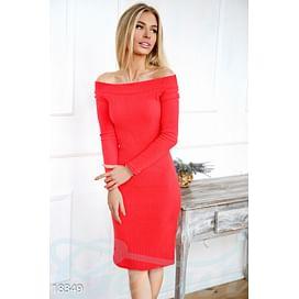 Платье с открытыми плечами Graceful