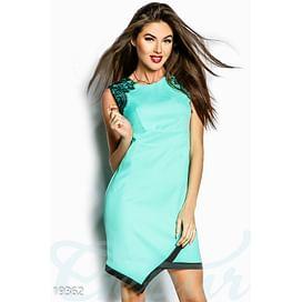 Платье с кружевом Perspective