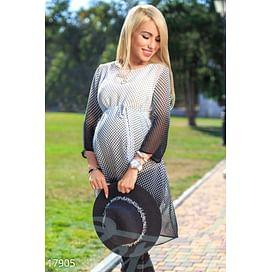 Удлиненная шифоновая блуза 9 months