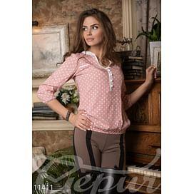 Нежная хлопковая блуза Paris