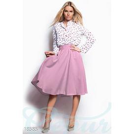 Изящная юбка-клеш Vibe