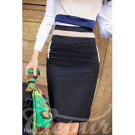 Декорированная юбка-карандаш Velvet