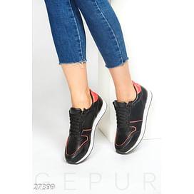 Спортивные кожаные кроссовки Balenciaga