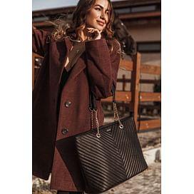 Вместительная женская сумка This is your time