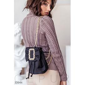 Эффектный маленький рюкзак Leather trend