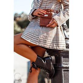 Компактная поясная сумка Leather trend