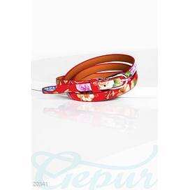 Яркий лаковый ремень Belts