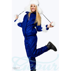Зимний стеганый костюм Glam