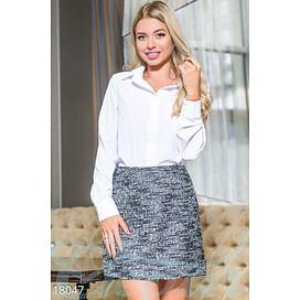 Классическая женская блуза Simplicity