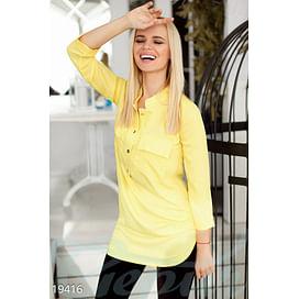 Свободная асимметричная блуза On the go