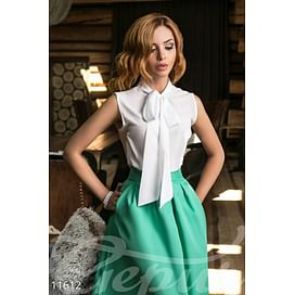 Элегантная блуза с завязками In the wood