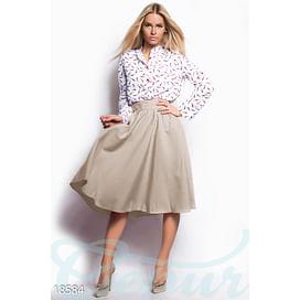 Силуэтная женская юбка Vibe