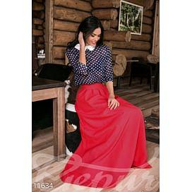 Элегантная юбка-макси In the wood