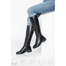 Сапоги на шнуровке Premium coats
