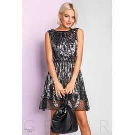 Кожаная сумка-барсетка Dress time