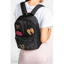 Рюкзак с нашивками Gpr sweet wear