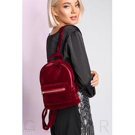 Замшевый рюкзак-мини Dress time