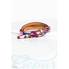 Цветной лаковый ремень Belts