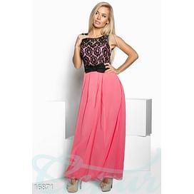 Роскошное шифоновое платье Mix