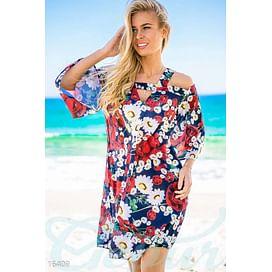 Свободное шифоновое платье Calipso