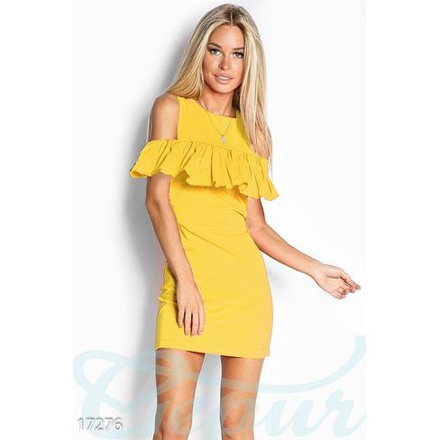 Трендовое мини-платье Colorful