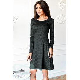 Платье мелкая клетка Pure