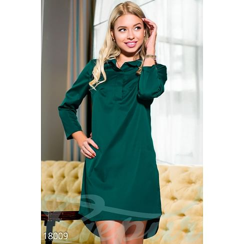 Хлопковое платье-рубашка Simplicity