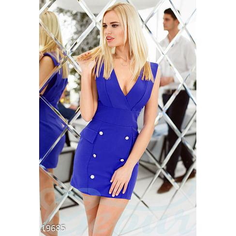 Платье с декольте On the go