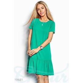 Платье с оборкой Perspective