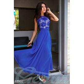 Воздушное вечернее платье Aquamarine