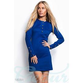 Яркое стеганое платье Vibe