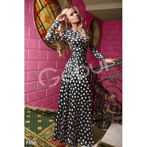 Струящееся атласное платье Bohemian