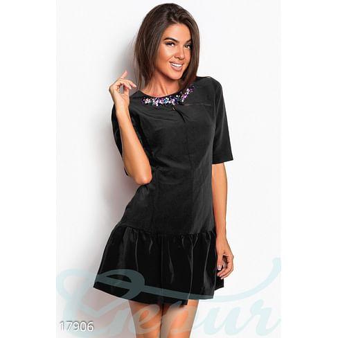 Короткое платье-трапеция Symbol
