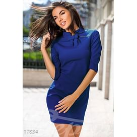 Лаконичное платье-трапеция Symbol