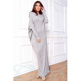 Длинное асимметричное платье Graceful