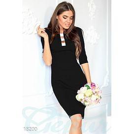 Платье с декольте Pure