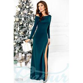 Вечернее платье с разрезом Evening