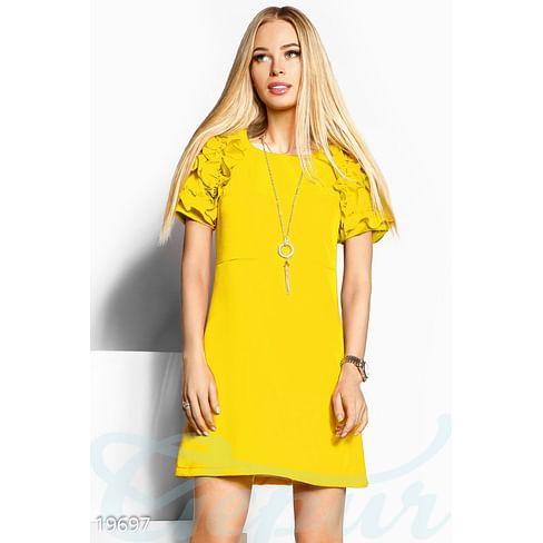 Платье с объемными рукавами Sparkle