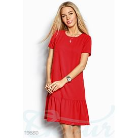 Платье с коротким рукавом Perspective