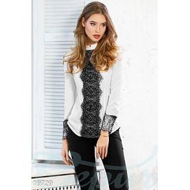 Блуза с гипюром Savoy