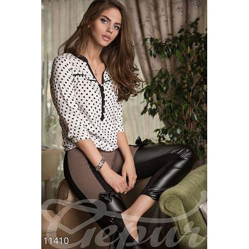Блуза в горошек Paris