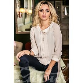 Легкая блуза с декором Abajour