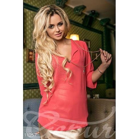 Воздушная блуза с декором Abajour
