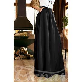 Струящаяся длииная юбка In the wood