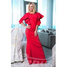 Платье с воланами Bright