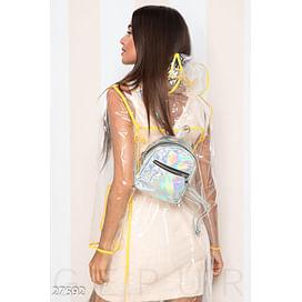 Стильный лаковый рюкзак Its raining