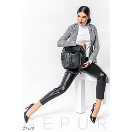 Повседневный кожаный рюкзак Spring edition