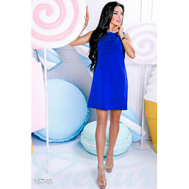 Яркое платье-трапеция Sweet boutique