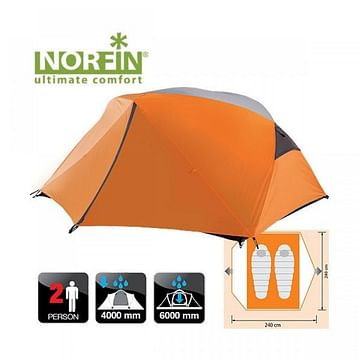 Палатка 2-х местная NORFIN BEGNA 2