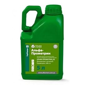 Альфа Прометрин гербицид к.с. (аналог Гезагард) 5 литров ALFA Smart Agro